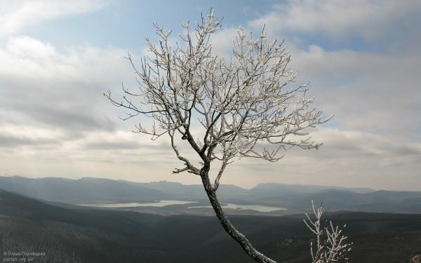 Вид на Байдарську долину