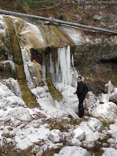 Водоспад Нижній Яузлар