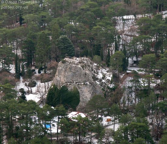 Скеля Учан-Су-Ісара