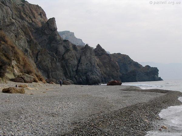 Фіолент, Яшмовий пляж