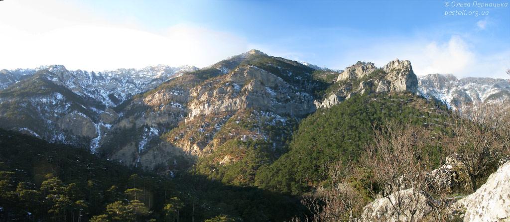 Панорама з Учан-Су-Ісара